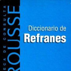 Diccionarios: DICCIONARIO DE REFRANES. ANÓNIMO. Lote 130889888