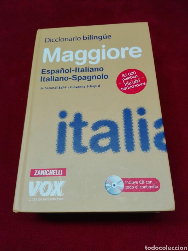 DICCIONARIO ITALIANO-ESPAÑOL CON DISCO (Libros Nuevos - Diccionarios y Enciclopedias - Diccionarios)