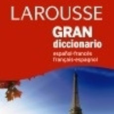 Diccionarios: GRAN DICC. ESPAÑOL FRANCÉS / FRANCÉS ESPAÑOL. Lote 132571041