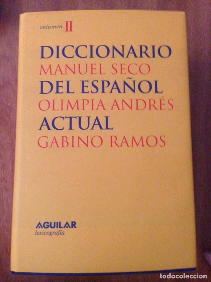 DICCIONARIO MANUEL SECO DEL ESPAÑOL (Libros Nuevos - Diccionarios y Enciclopedias - Diccionarios)