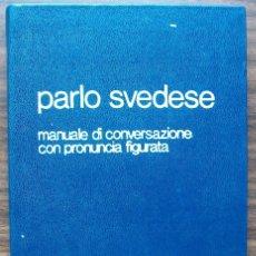 Diccionarios: PARLO SVEDESE. G. GARFF. Lote 141051382
