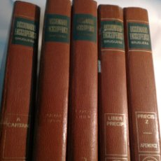Diccionarios: DICCIONARIO ENCICLOPEDICO BRUGUERA. Lote 142813972