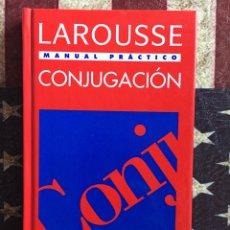 Diccionarios: MANUAL PRÁCTICO DE CONJUGACIÓN. Lote 142942102
