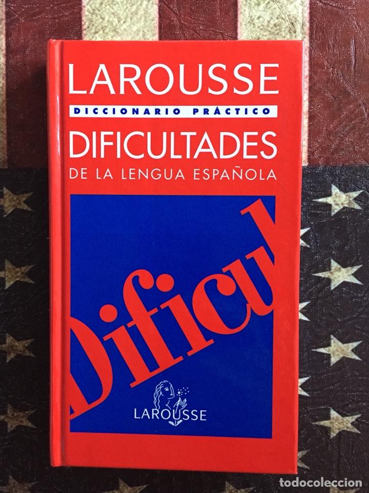 DIFICULTADES DE LA LENGUA (Libros Nuevos - Diccionarios y Enciclopedias - Diccionarios)