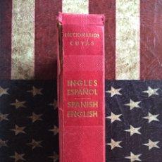 Diccionarios: DICCIONARIO DE INGLÉS. Lote 142943100