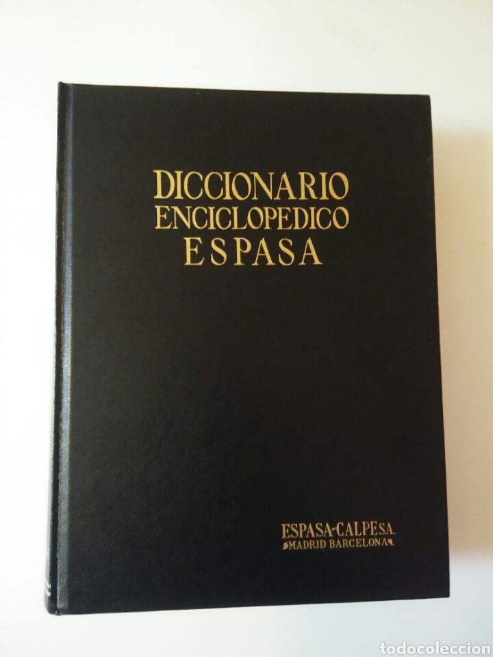 DICCIONARIO ENCICLOPÉDICO ESPASA TOMO 9 MÓDULO PERGEÑO AÑO 1985 (Libros Nuevos - Diccionarios y Enciclopedias - Diccionarios)