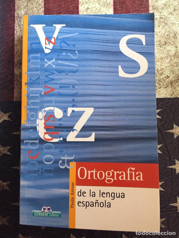 ORTOGRAFÍA DE LA LENGUA ESPAÑOLA (Libros Nuevos - Diccionarios y Enciclopedias - Diccionarios)