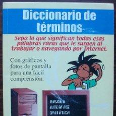Diccionarios: DICCIONARIO DE TERMINOS. 2002. Lote 144040882
