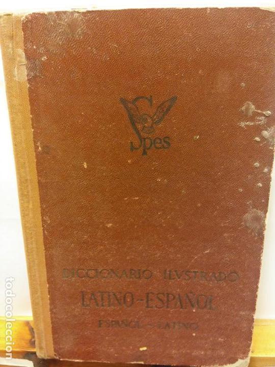 STQ.VICENTE GARCIA DE DIEGO.DICCIONARIO ILUSTRADO LATINO-ESPAÑOL.EDT, SPES.. (Libros Nuevos - Diccionarios y Enciclopedias - Diccionarios)
