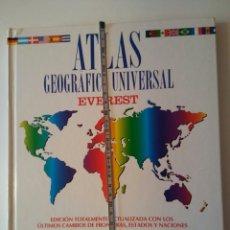 Diccionarios: ATLAS GEOGRÁFICO EVEREST-AÑO2002-. Lote 146436397