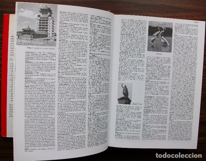 Diccionarios: DICCIONARIO ENCICLOPEDICO OCEANO. TOMO 3. ORGANOG ZWORIKIN - Foto 2 - 147020682