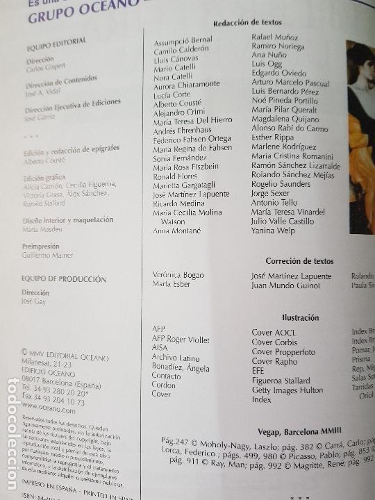 Diccionarios: DICCIONARIO DE LITERATURA UNIVERSAL - ED.OCEANO + CD - AÑO 1984 (ILUST) - Foto 5 - 213675082