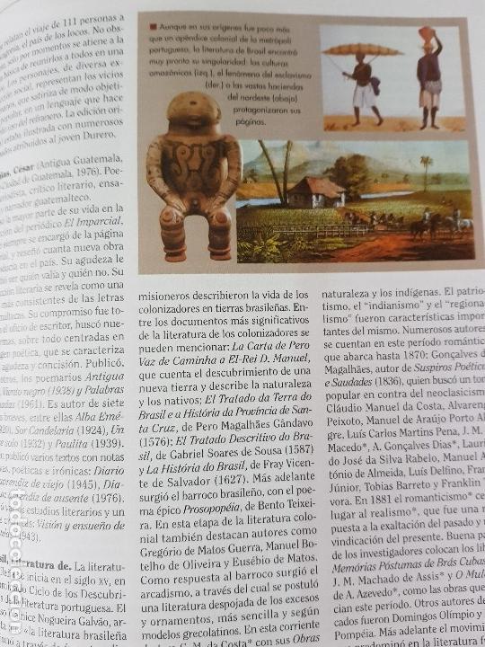 Diccionarios: DICCIONARIO DE LITERATURA UNIVERSAL - ED.OCEANO + CD - AÑO 1984 (ILUST) - Foto 7 - 213675082