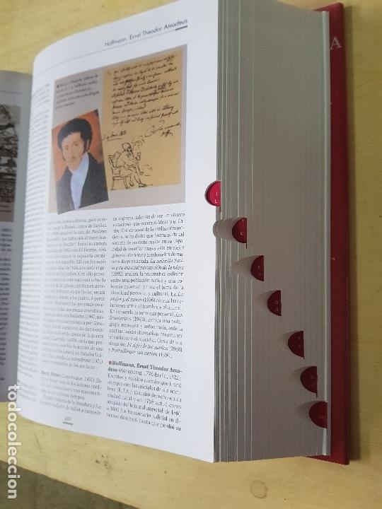 Diccionarios: DICCIONARIO DE LITERATURA UNIVERSAL - ED.OCEANO + CD - AÑO 1984 (ILUST) - Foto 8 - 213675082