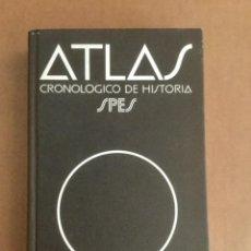 Diccionarios: ATLAS CRONOLÓGICO DE HISTORIA. BIBLIOGRAF. NUEVO. Lote 151969262