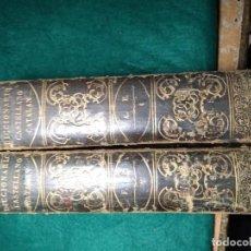 Diccionarios: NOVISIMO DICCIONARIO DE LA LENGUA CASTELLANA 1866. Lote 152845206