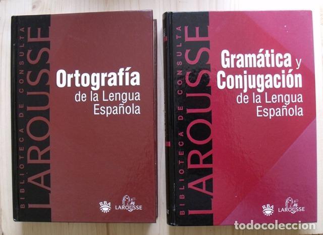 Diccionarios: Libros Biblioteca de Consulta Larousse - RBA - 10 TOMOS - Foto 4 - 162166162