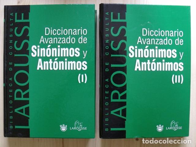 Diccionarios: Libros Biblioteca de Consulta Larousse - RBA - 10 TOMOS - Foto 5 - 162166162