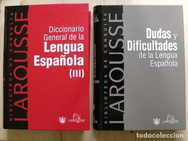 Diccionarios: Libros Biblioteca de Consulta Larousse - RBA - 10 TOMOS - Foto 8 - 162166162