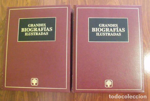 GRANDES BIOGRAFÍAS ILUSTRADAS - 2 TOMOS (COMPLETA) (Libros Nuevos - Diccionarios y Enciclopedias - Diccionarios)