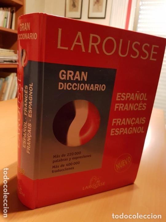 Diccionarios: LOTE DE 2 DICCIONARIOS FRANCÉS E INGLÉS ; LAROUSSE Y COLINS UNIVERSAL . AMBOS TAPAS DURAS - Foto 9 - 162477994