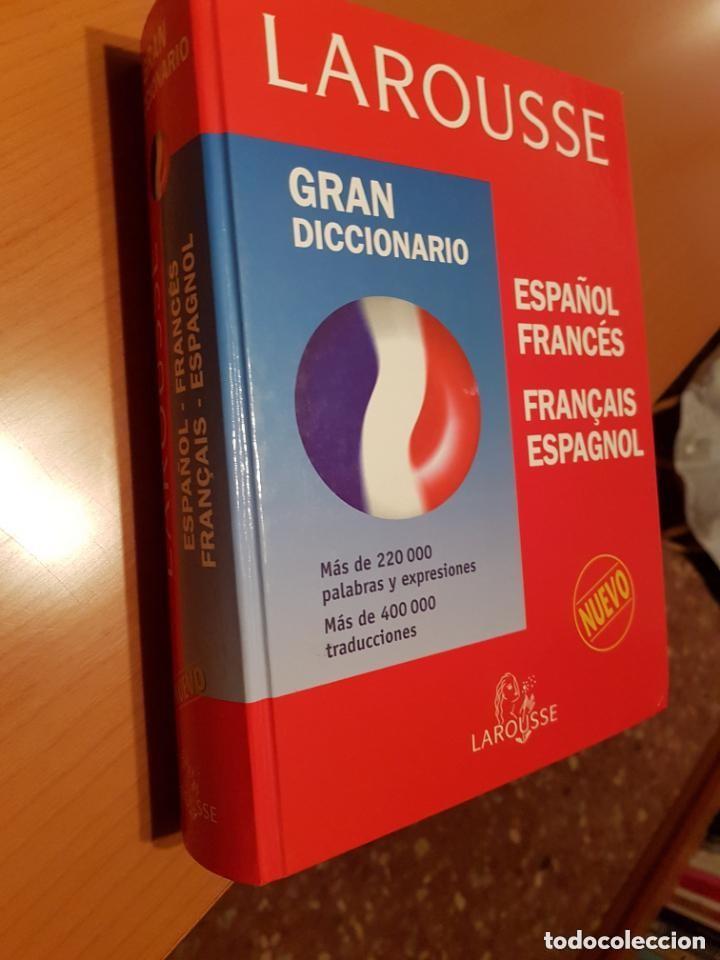 Diccionarios: LOTE DE 2 DICCIONARIOS FRANCÉS E INGLÉS ; LAROUSSE Y COLINS UNIVERSAL . AMBOS TAPAS DURAS - Foto 4 - 162477994