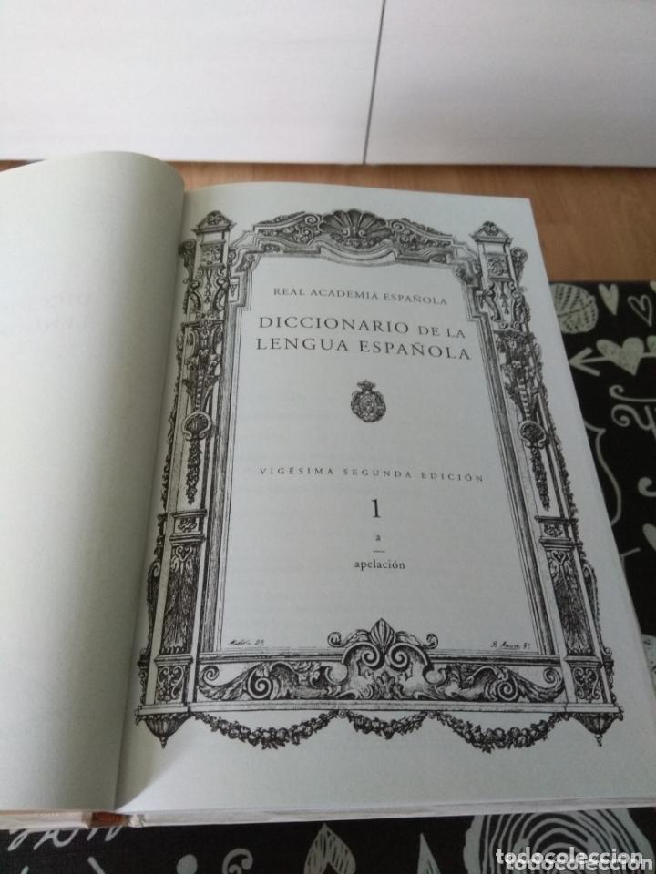 Diccionarios: Diccionario de la lengua española. 22 edicion. de espasa. Real academia española 2001 - Foto 5 - 172357333