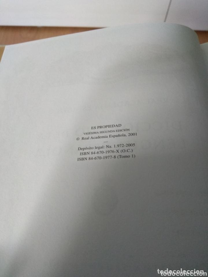 Diccionarios: Diccionario de la lengua española. 22 edicion. de espasa. Real academia española 2001 - Foto 6 - 172357333