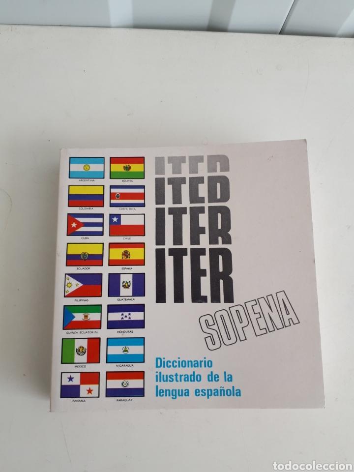 DICCIONARIO ITER SOPENA 1974 PERFECTO ESTADO (Libros Nuevos - Diccionarios y Enciclopedias - Diccionarios)