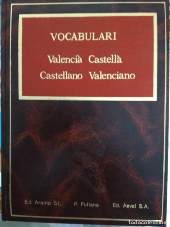 VOCABULARI CASTELLANO VALENCIANO Y VICEVERSA (Libros Nuevos - Diccionarios y Enciclopedias - Diccionarios)