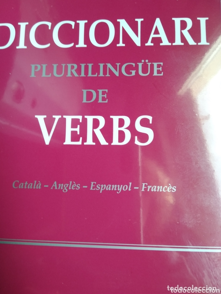 Diccionarios: Diccionari plurilingüe de verbs - Foto 2 - 174028052