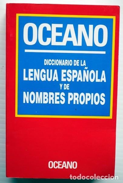 DICCIONARIO DE LA LENGUA ESPAÑOLA Y DE LOS NOMBRES PROPIOS (Libros Nuevos - Diccionarios y Enciclopedias - Diccionarios)
