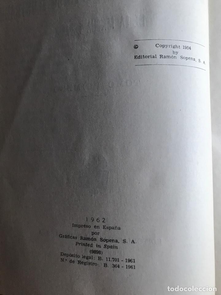 Diccionarios: Diccionario Enciclopédico Ilustrado . Ramon Sopena 1962 - Foto 3 - 177945810