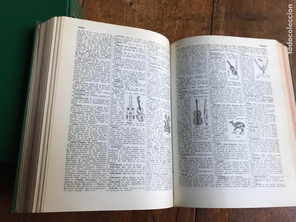 Diccionarios: Diccionario Enciclopédico Ilustrado . Ramon Sopena 1962 - Foto 7 - 177945810