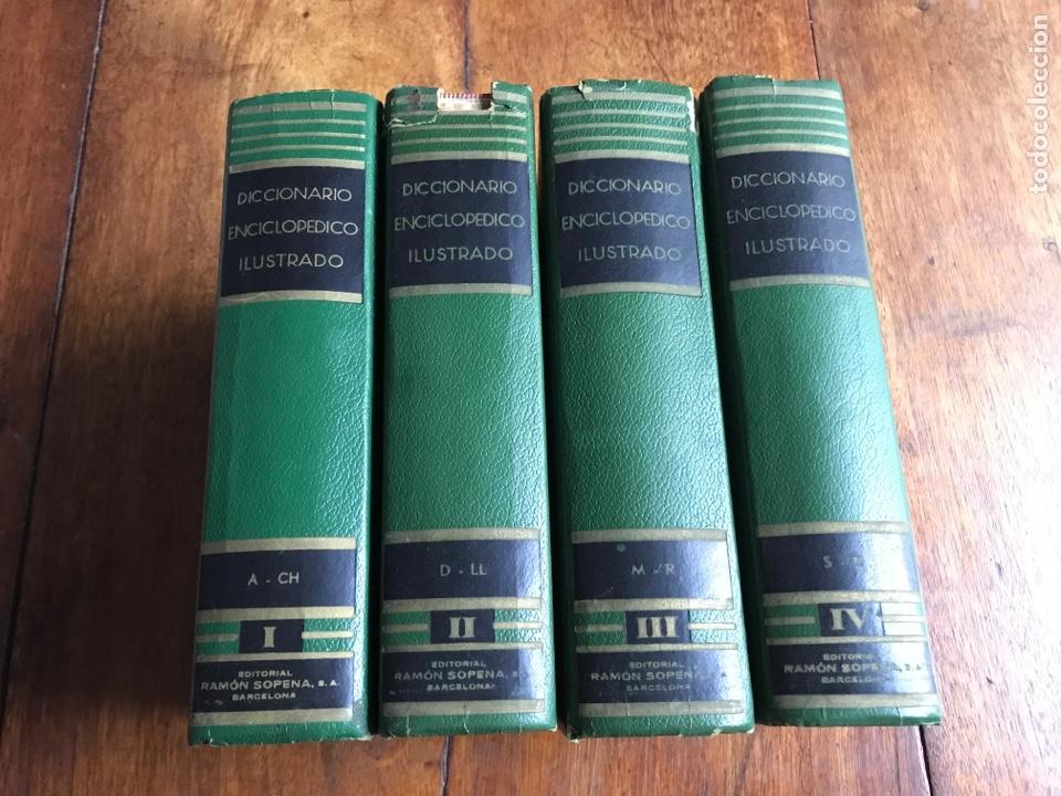 DICCIONARIO ENCICLOPÉDICO ILUSTRADO . RAMON SOPENA 1962 (Libros Nuevos - Diccionarios y Enciclopedias - Diccionarios)