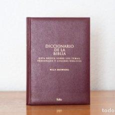 Diccionarios: DICCIONARIO DE LA BIBLIA W.R.F BROWING. Lote 178778828