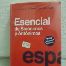 Diccionarios: ESENCIAL DE SINÓNIMOS Y ANTÓNIMOS. VOX. Lote 179196833