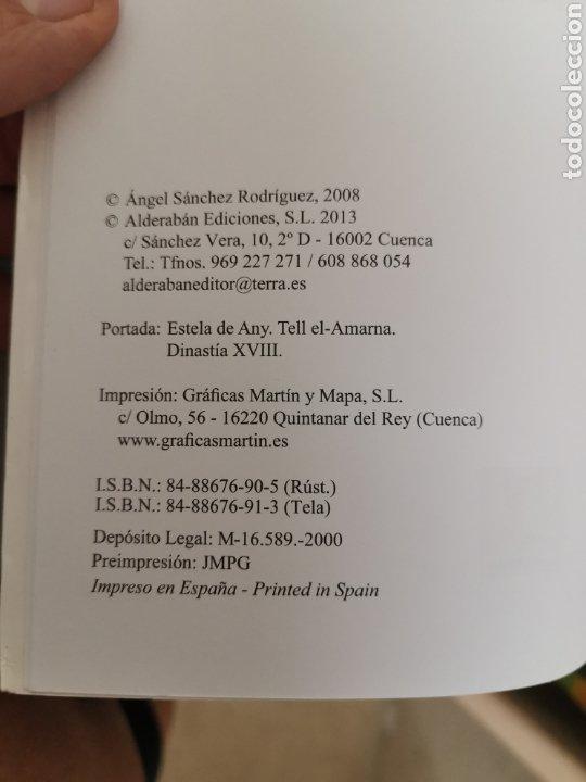 Diccionarios: DICCIONARIO JEROGLÍFICOS EGIPCIOS ED. ALDERABAN 608 pag ANGEL SÁNCHEZ 2008 - Foto 7 - 179203892