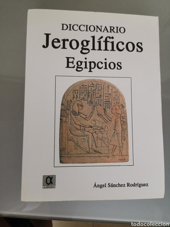 DICCIONARIO JEROGLÍFICOS EGIPCIOS ED. ALDERABAN 608 PAG ANGEL SÁNCHEZ 2008 (Libros Nuevos - Diccionarios y Enciclopedias - Diccionarios)