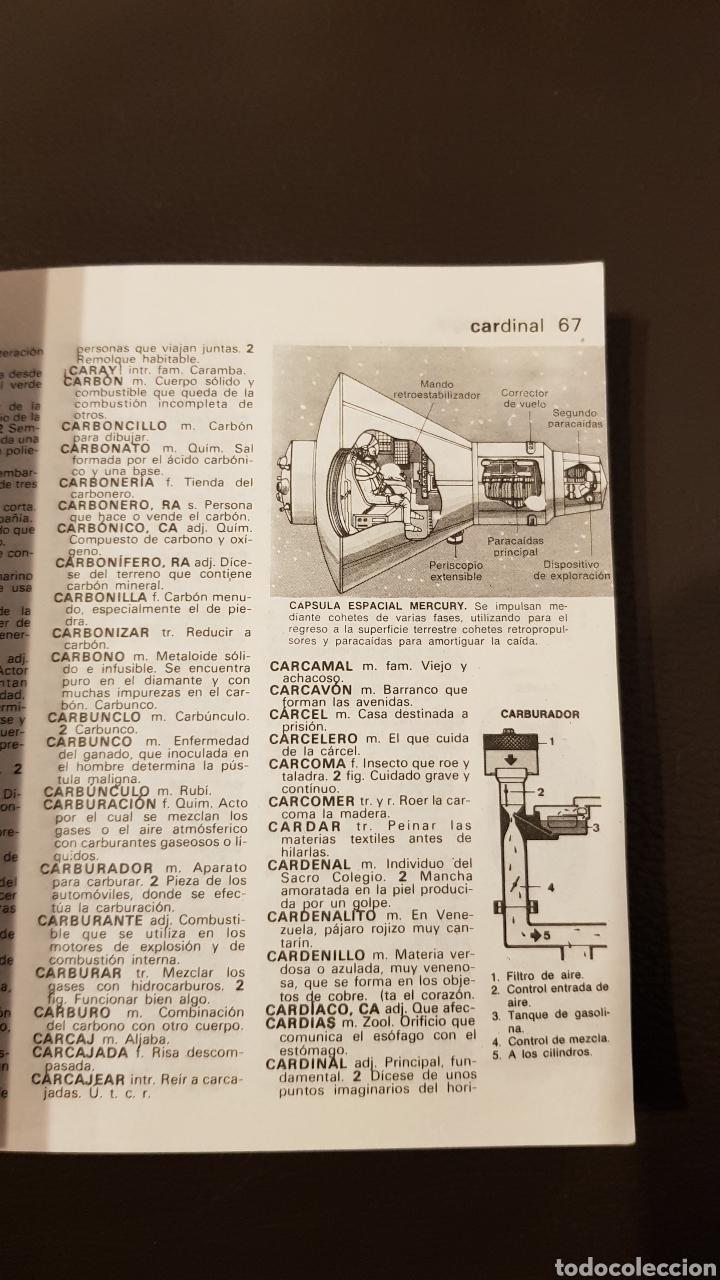 Diccionarios: DICCIONARIO ILUSTRADO DE LA LENGUA ESPAÑOLA ITER SOPENA - Foto 5 - 180134372