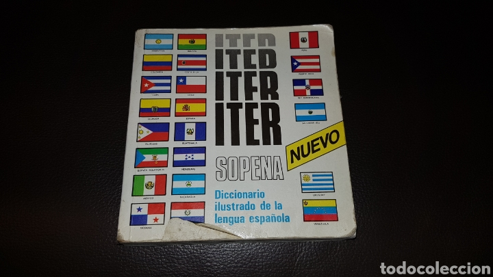 DICCIONARIO ILUSTRADO DE LA LENGUA ESPAÑOLA ITER SOPENA (Libros Nuevos - Diccionarios y Enciclopedias - Diccionarios)