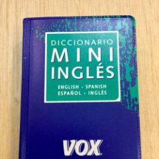Diccionarios: DICCIONARIO MINI INGLES. VOX. BOLSILLO. NUEVO. REF: AX455. Lote 180874736