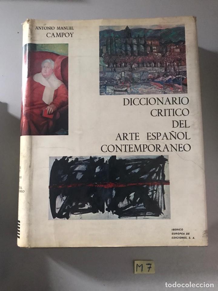DICCIONARIO CRÍTICO DEL ARTE ESPAÑOL CONTEMPORÁNEO (Libros Nuevos - Diccionarios y Enciclopedias - Diccionarios)