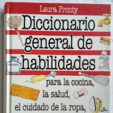 Livres: DICCIONARIO GENERAL DE HABILIDADES. LAURA FRONTY. Lote 182167936