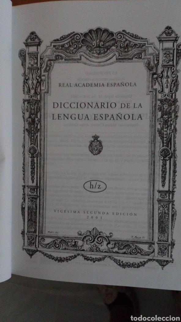 Diccionarios: Real academia española: Diccionario de la lengua española (2 vols.) - Foto 3 - 182376481