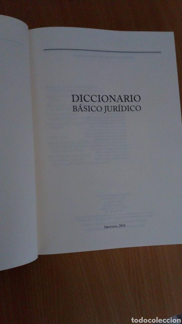 Diccionarios: Diccionario básico juridico - Foto 2 - 182377081