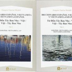 Diccionarios: DICCIONARIO ESPAÑOL-VIETNAMITA Y VIETNAMITA-ESPAÑOL 2 VOLÚMENES - AXAC 2016. Lote 182848502