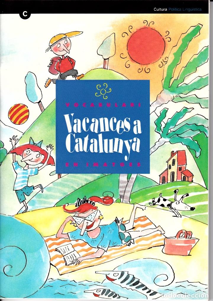 VOCABULARI EN IMATGES VACANCES A CATALUNYA (Libros Nuevos - Diccionarios y Enciclopedias - Diccionarios)