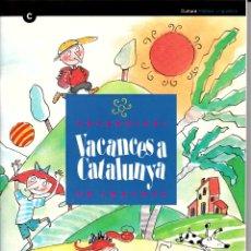 Diccionarios: VOCABULARI EN IMATGES VACANCES A CATALUNYA. Lote 182975256