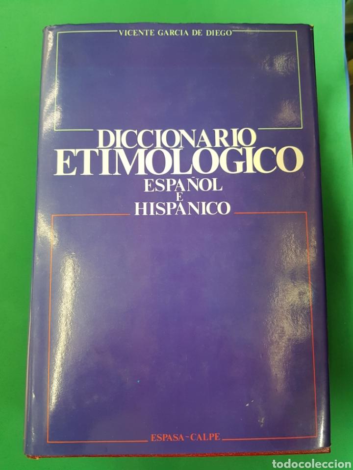 Diccionarios: Diccionario Etimológico , Espasa-Calpe, 1985 , segunda Edición - Foto 2 - 183061951
